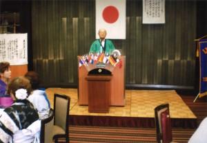 第一副会長 廣澤 Lの開会のゴング