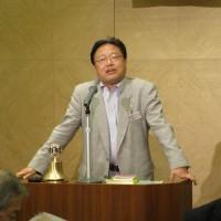 横井弘明L 掉尾を飾るメンバースピーチ