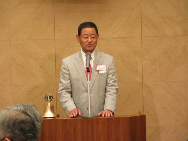 学員会副会長 安田征史様 ご挨拶