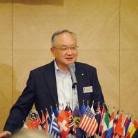 田口第一副会長 開会のゴング