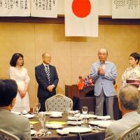 廣澤会長による新入会員歓迎の辞