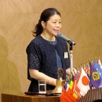 金融庁国際協力専門官、髙橋栄美様の講演
